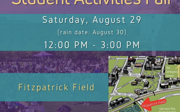 Student Activities Fair Postponed